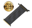 Cable Riser LINKUP PCIE 3.0 16x 64GB/s Shielded